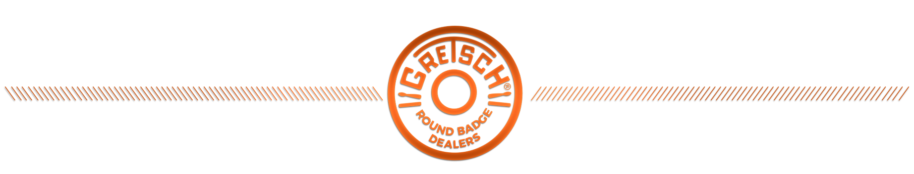 Gretsch Round Badge Dealers Logo